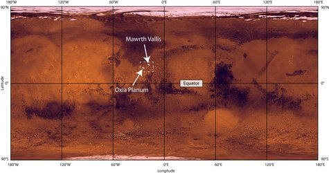 ExoMars landing sites in context