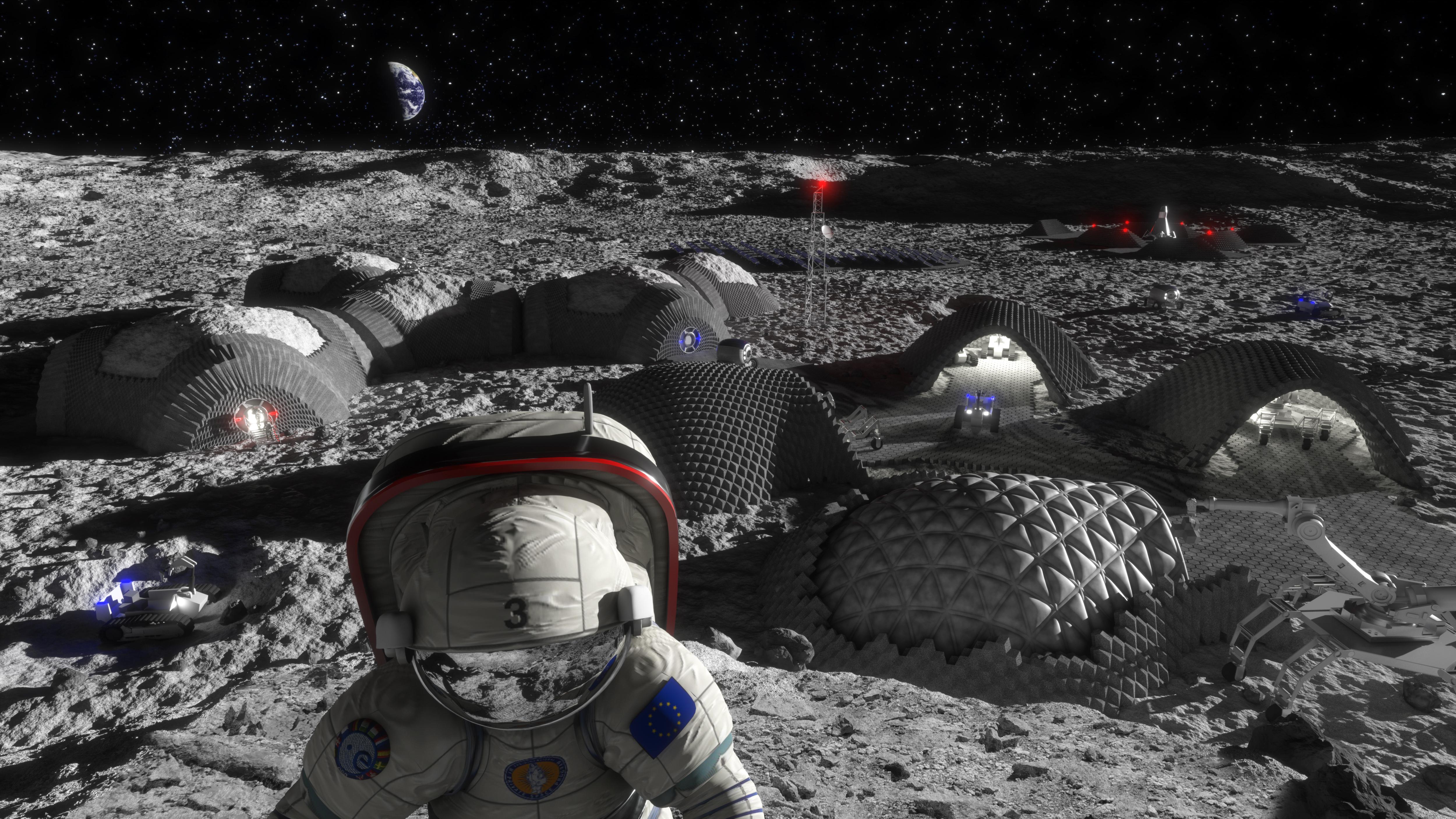 moon base materials - photo #7