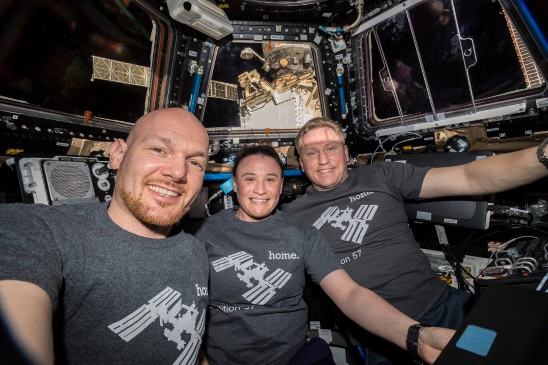 International Space Station crew. Credits: ESA/NASA