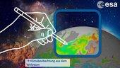 """Kunstwettbewerb """"Klima aus dem Weltraum"""""""