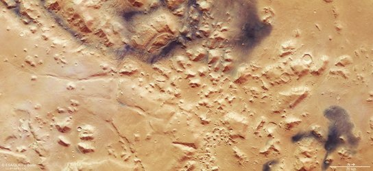 Mars Express view of Nili Fossae