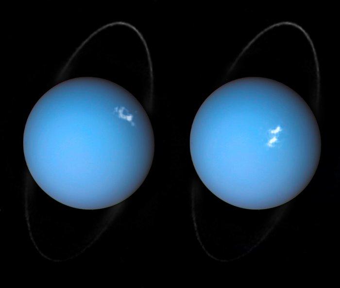 Aurora på Uranus 2018