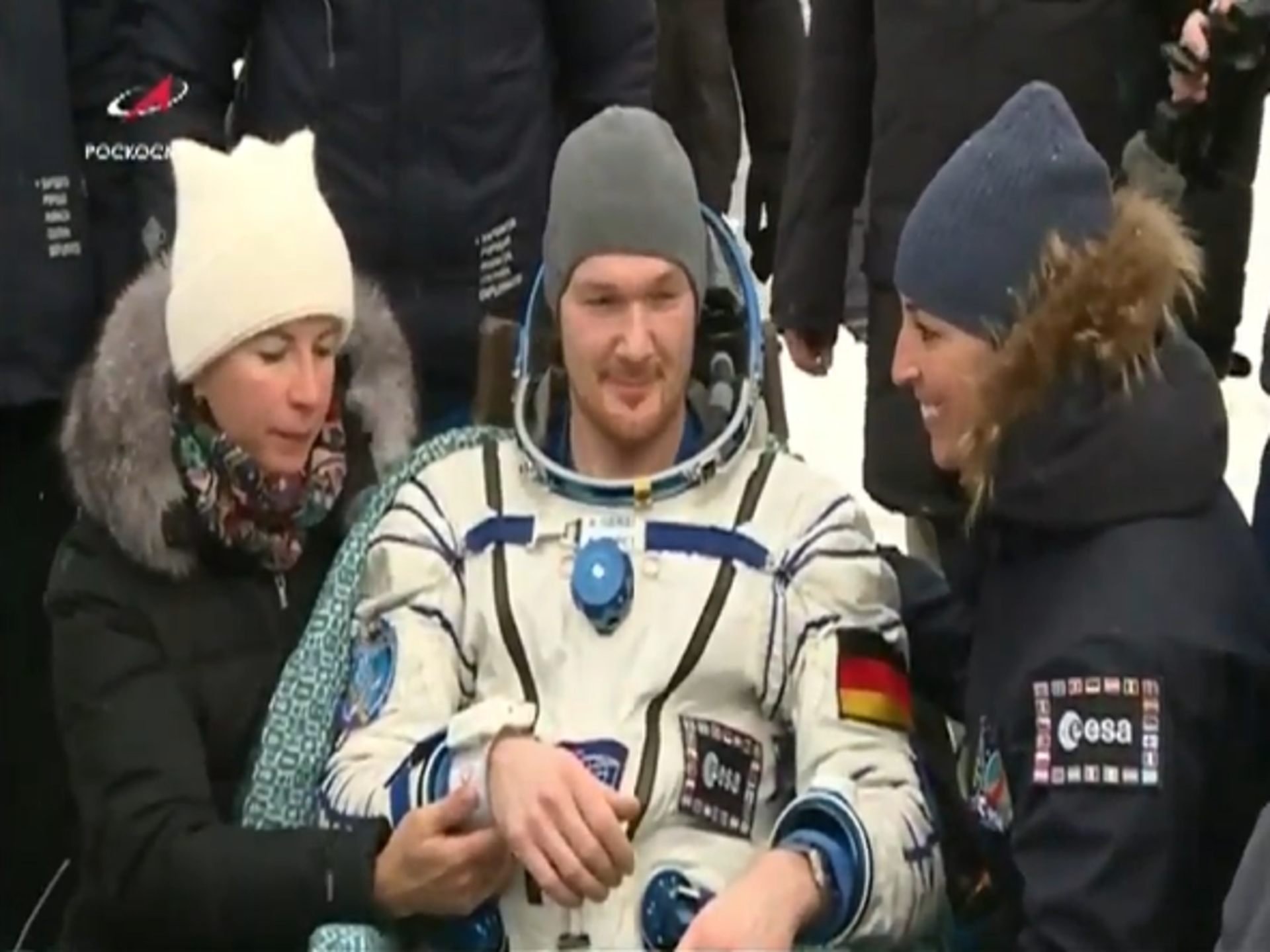 Alexander Gerst's second landing on Earth