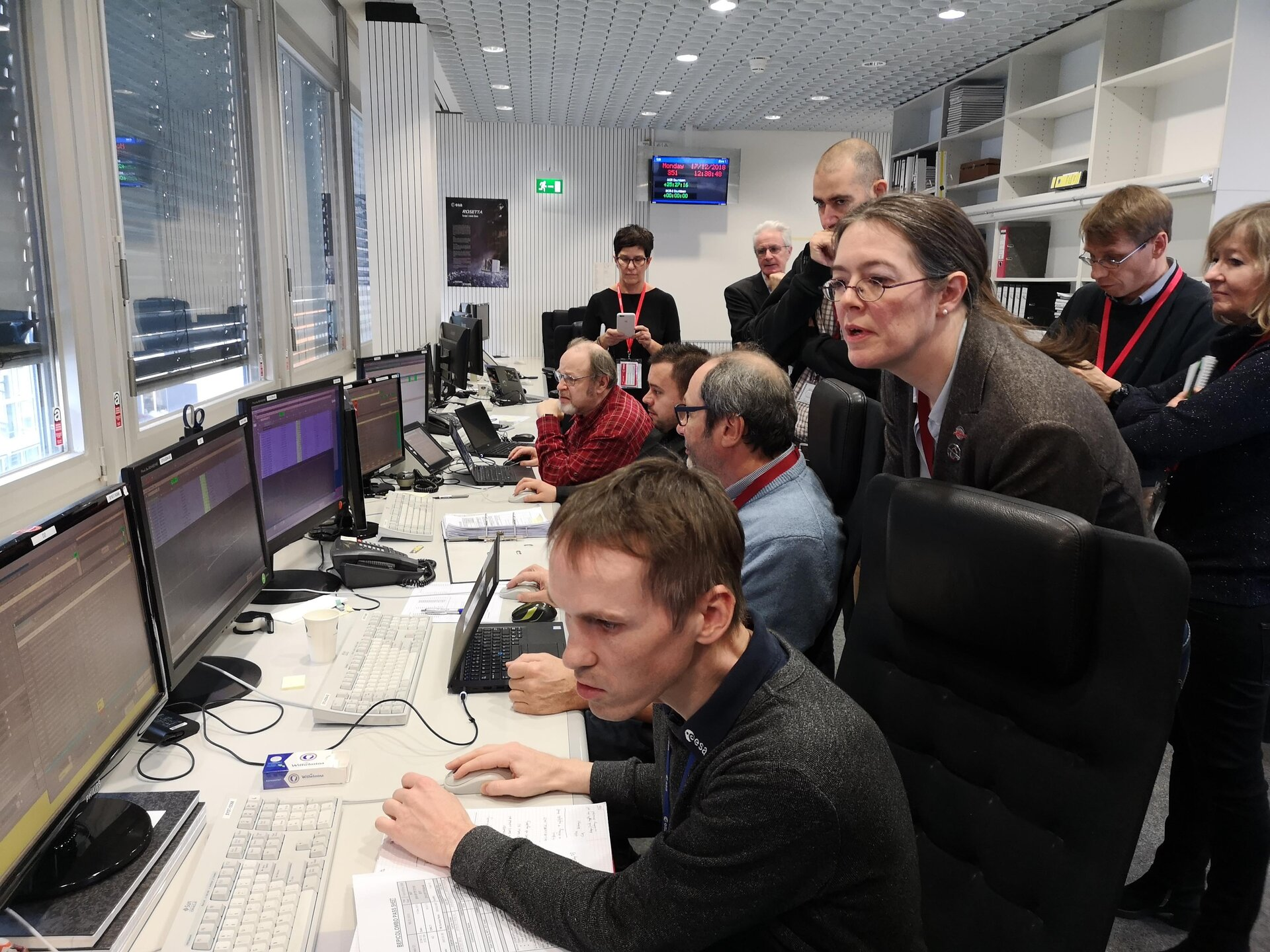 BepiColombo's team prepare for the spacecraft's first routine thruster burn
