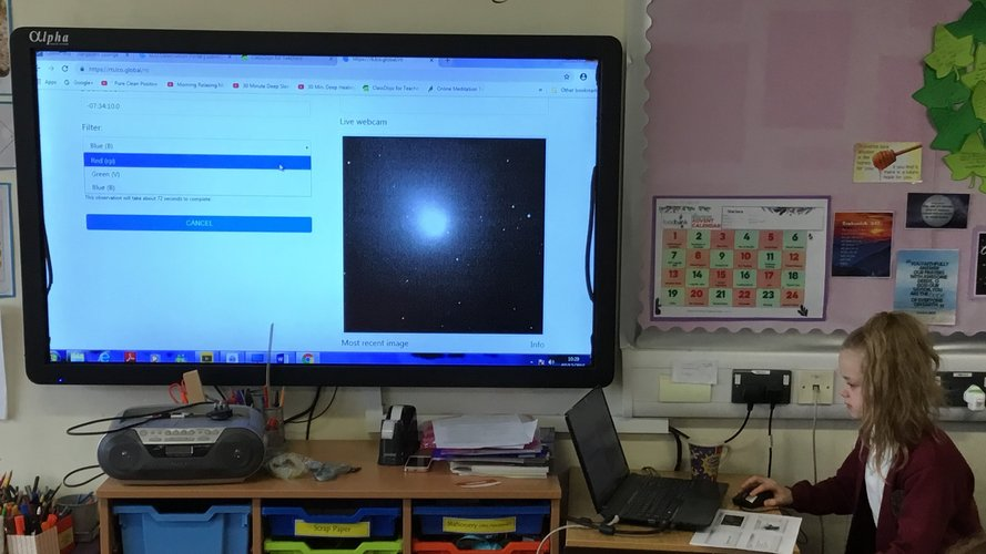 Comet 46P at primary school