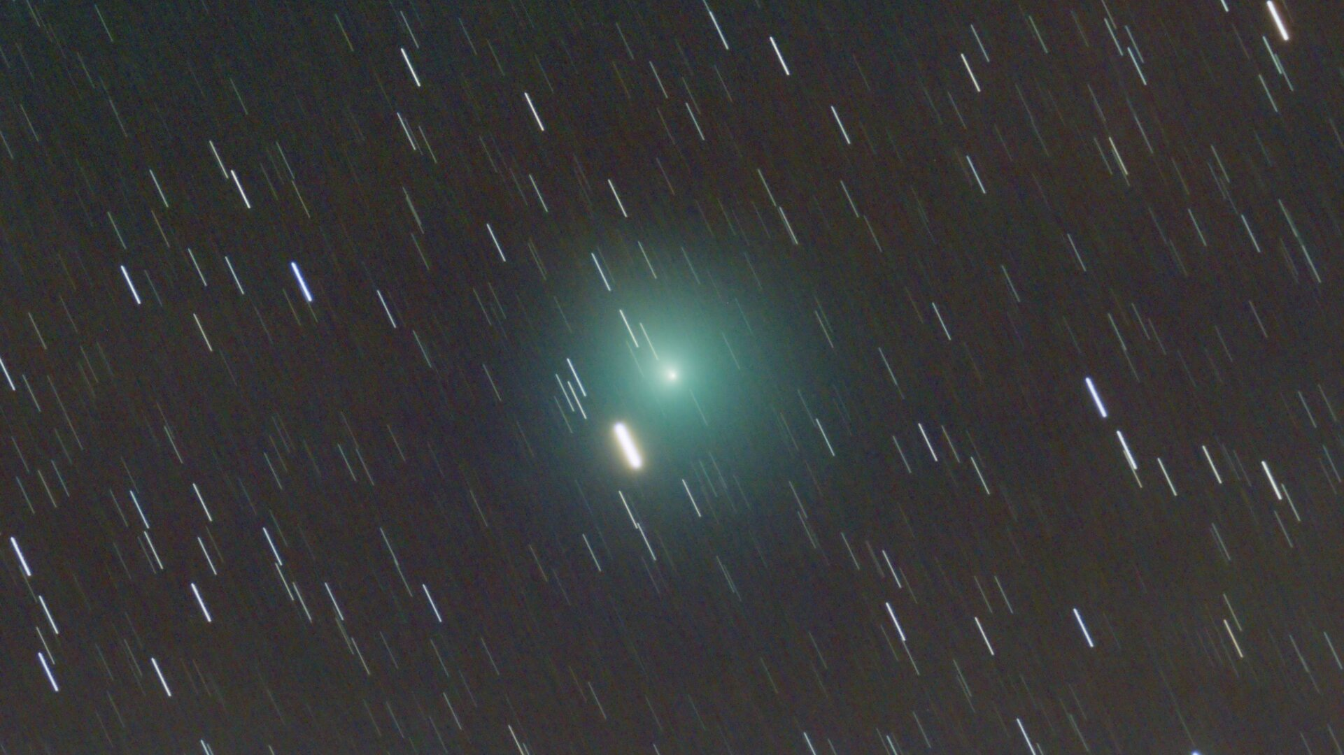 Comet from Madrid