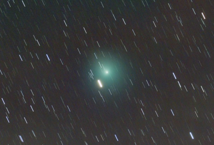 Comet 46P/Wirtanen from Madrid