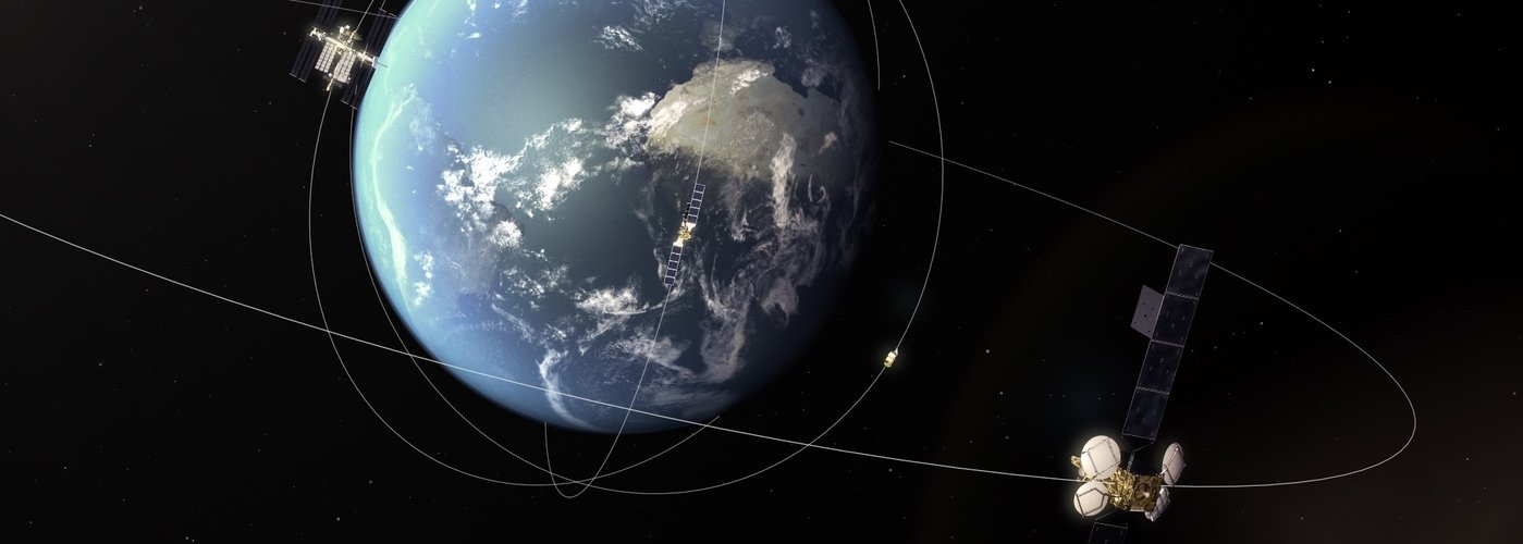 EDRS-A in geostationary orbit