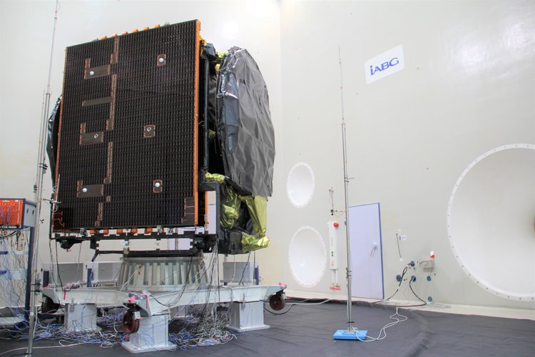 EDRS-C during acoustic tests
