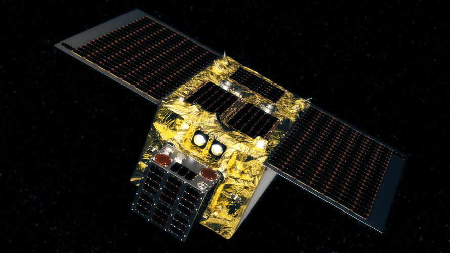 End-of-Life Service by Astroscale demonstrator (ELSA-d) satellite