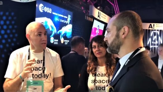ESA BIC start-ups at SLUSH
