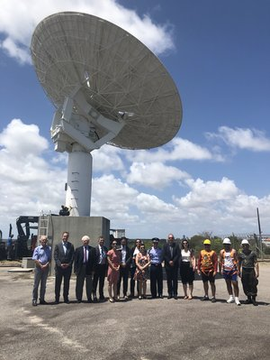 ESA and Brazil sign Implementing Arrangement for Natal tracking station