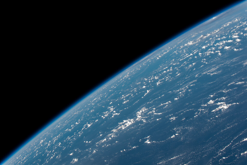 Image of Earth taken by ESA astronaut Alexander Gerst
