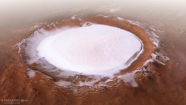 На Марсе дофигищи воды нашли