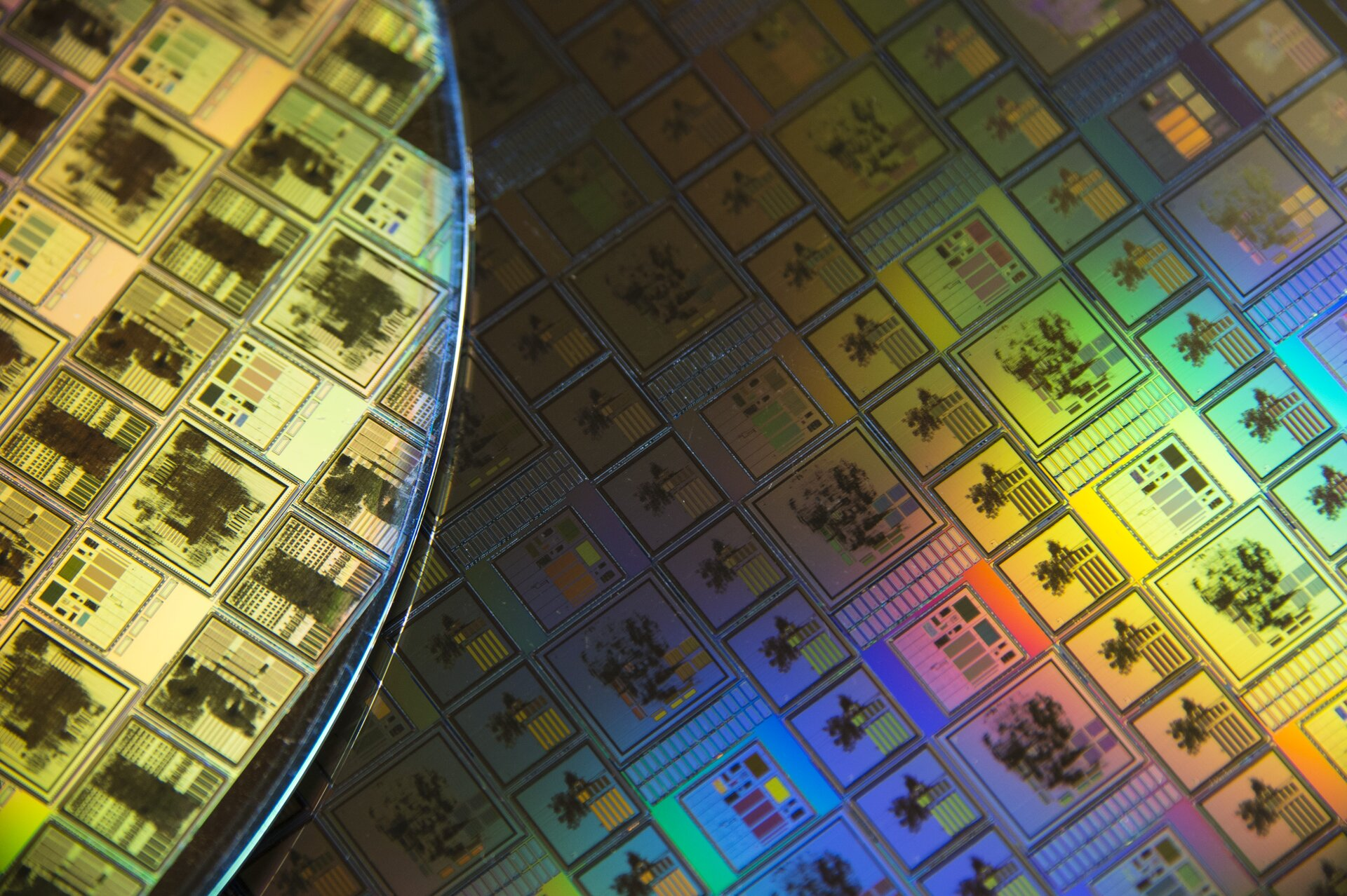 Space chips etched in silicon