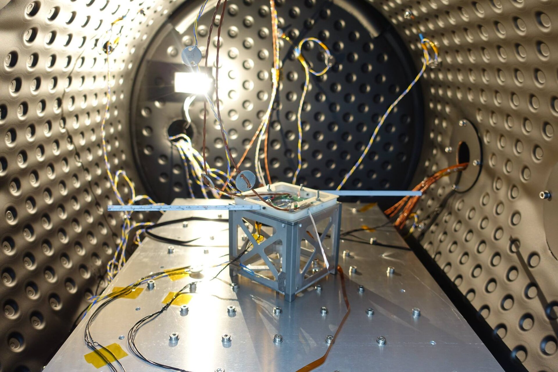 The UoS3 antennas deployed successfully after thermal vacuum testing