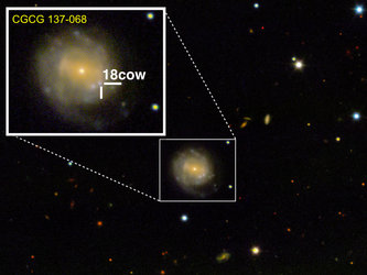 An unprecedentedly bright and rapidly evolving supernova