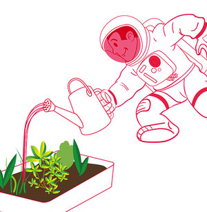 Astrofarmer - Learning about conditions for plant growth