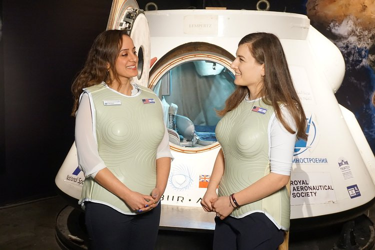 Radiation vests for the Moon