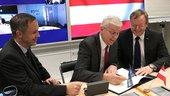Die Österreichische Forschungsförderungsgesellschaft unterzeichnet eine gemeinsame Erklärung zur europäischen institutionellen Nutzung von Ariane 6 und Vega-C