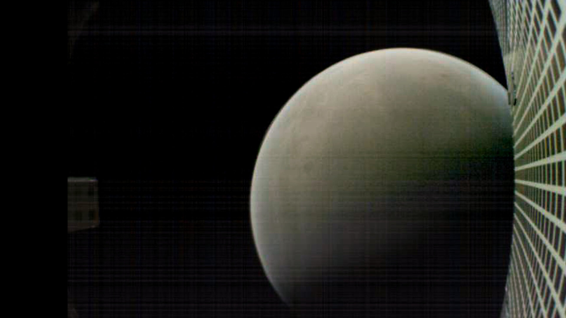 CubeSat shot of Mars
