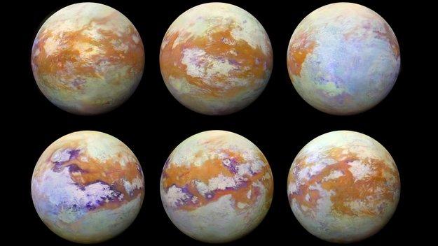 Infrared Titan