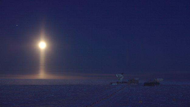 Lunar spotlight
