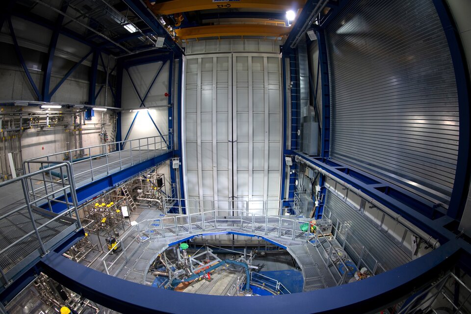 Ariane 6 upper stage 'Test cell'