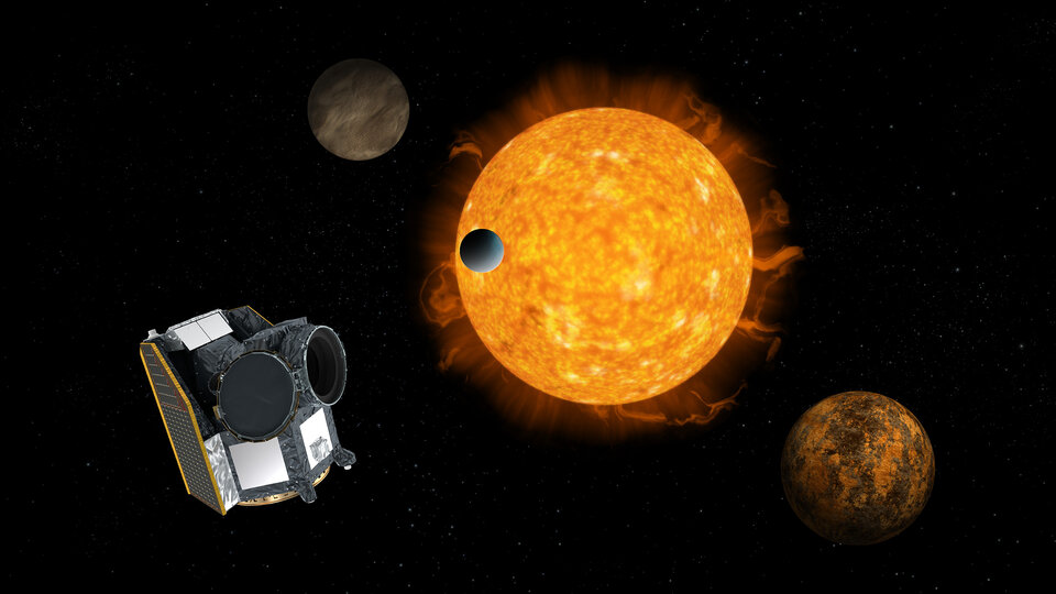 Cheops, ESA's first exoplanet mission