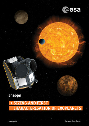 Cheops mission poster