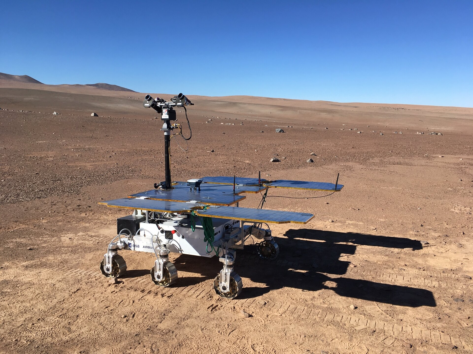 ExoFiT rover in Chile