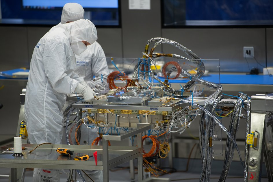 ExoMars rover under construction