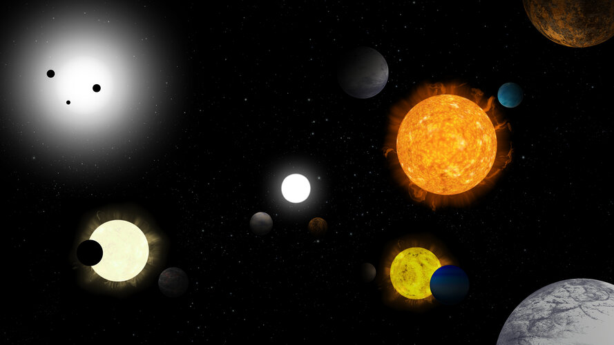Exoplanet imaginarium