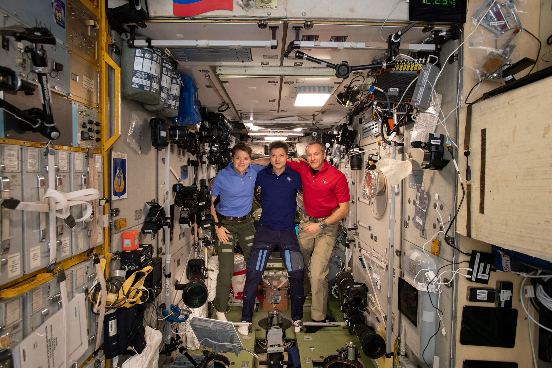 Crew of ISS Exp 58