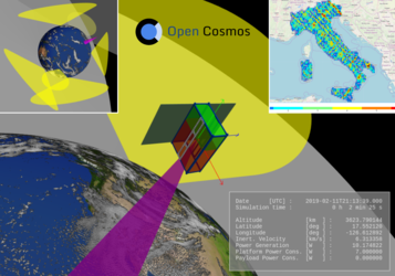 Open Cosmos mission simulator