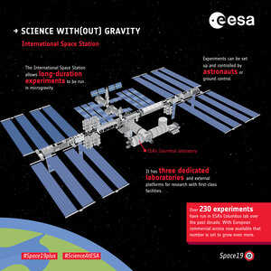 Science with(out) gravity  – International Space Station
