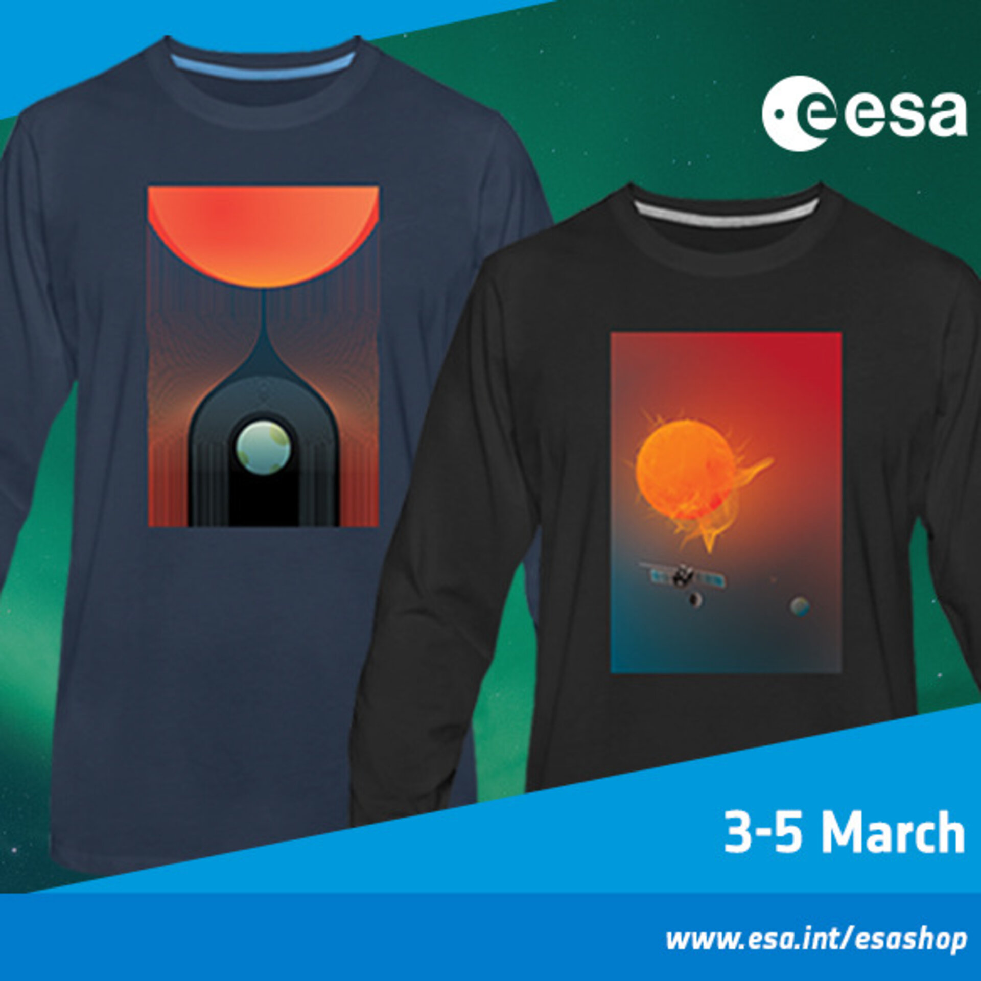 Space weather days in the ESA shop