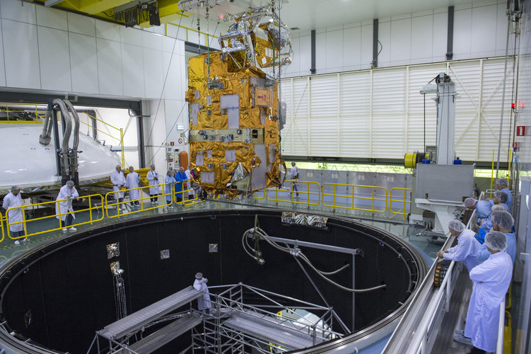 9: Europe's largest satellite test centre