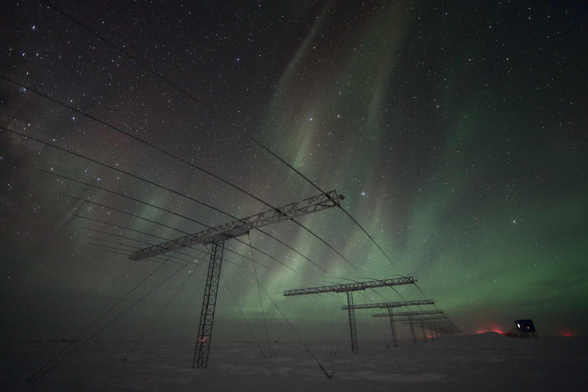 Antennas and auroras