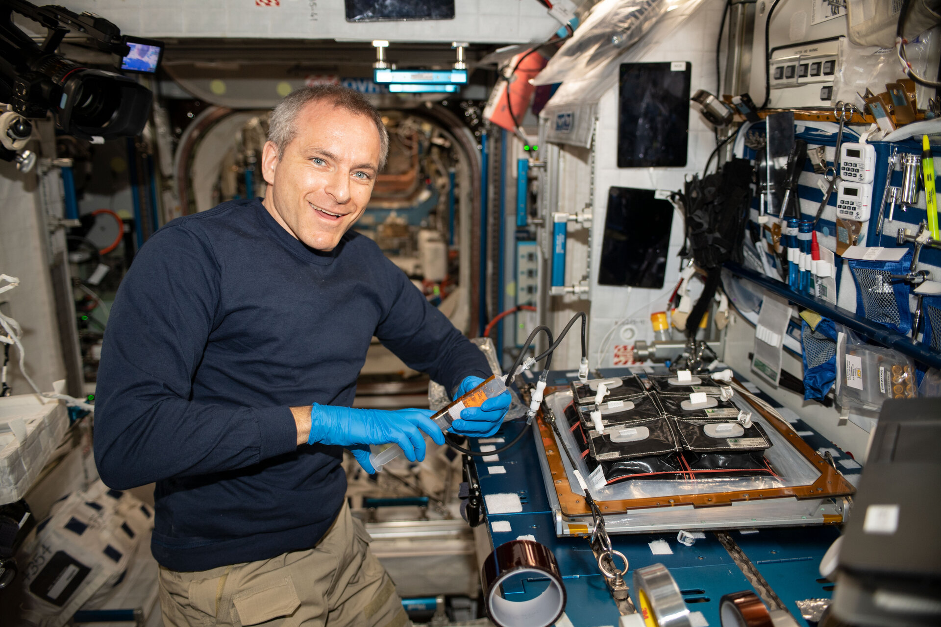 David Saint-Jacques on ISS