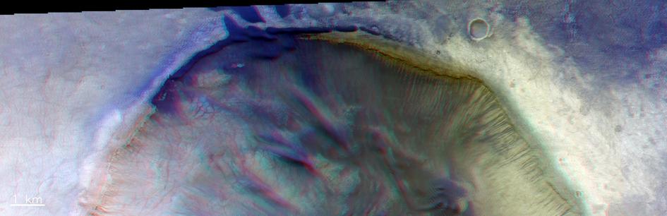 Draped dunes – 3D