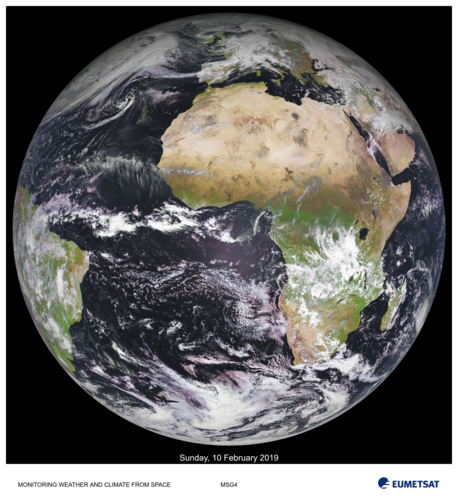Earth from MSG-4