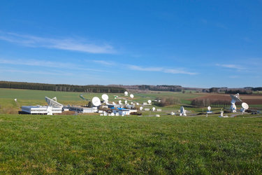 View of ESA's ESEC site, Redu, Belgium