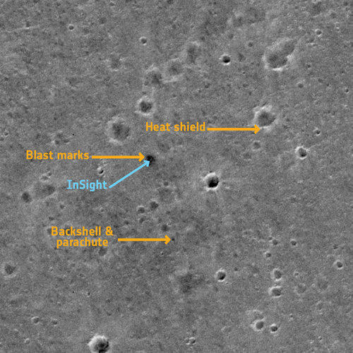 ExoMars images InSight