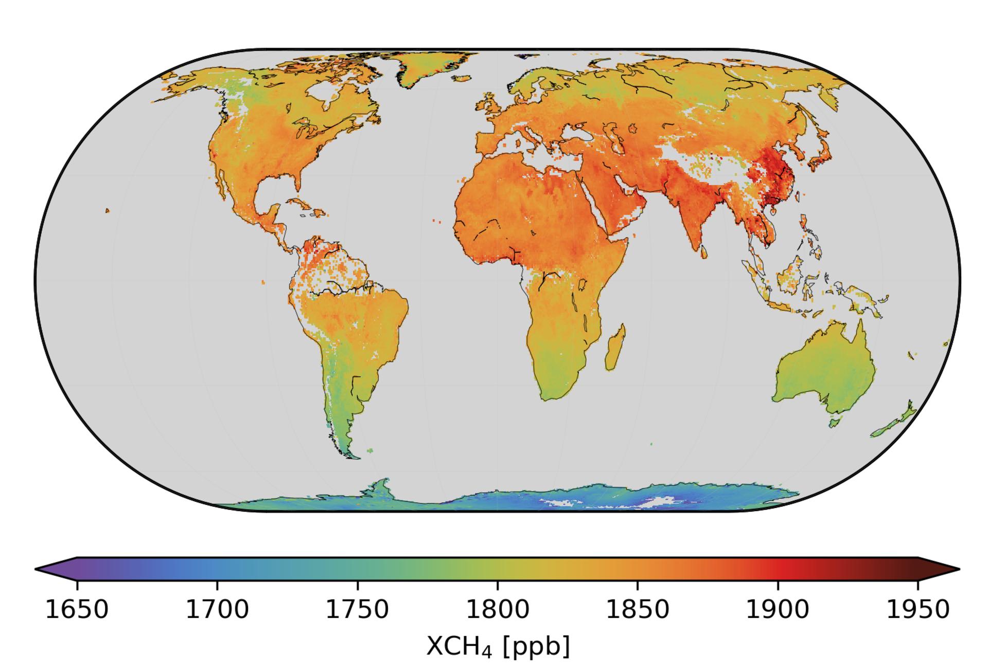 Global methane