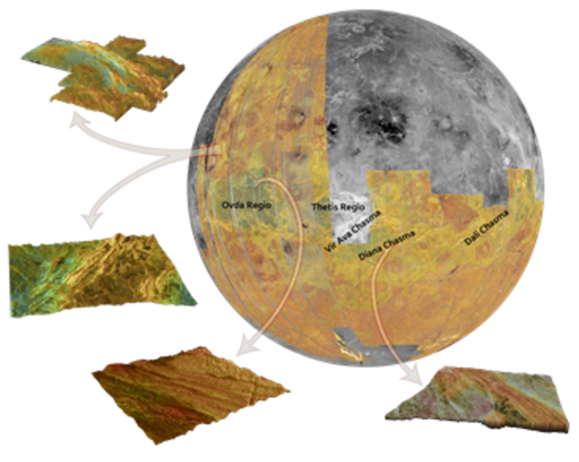 Radar observations of Venus