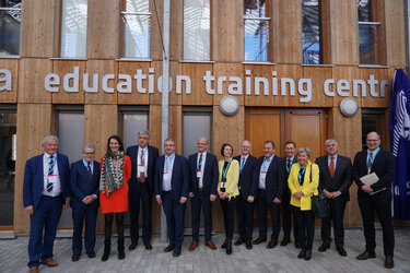 The ESA Education Training Centre at ESEC-Galaxia is inaugurated