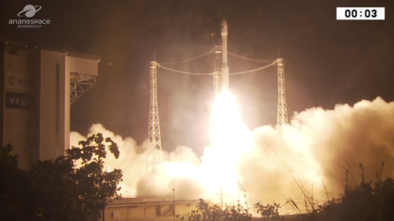 Vega lifts off