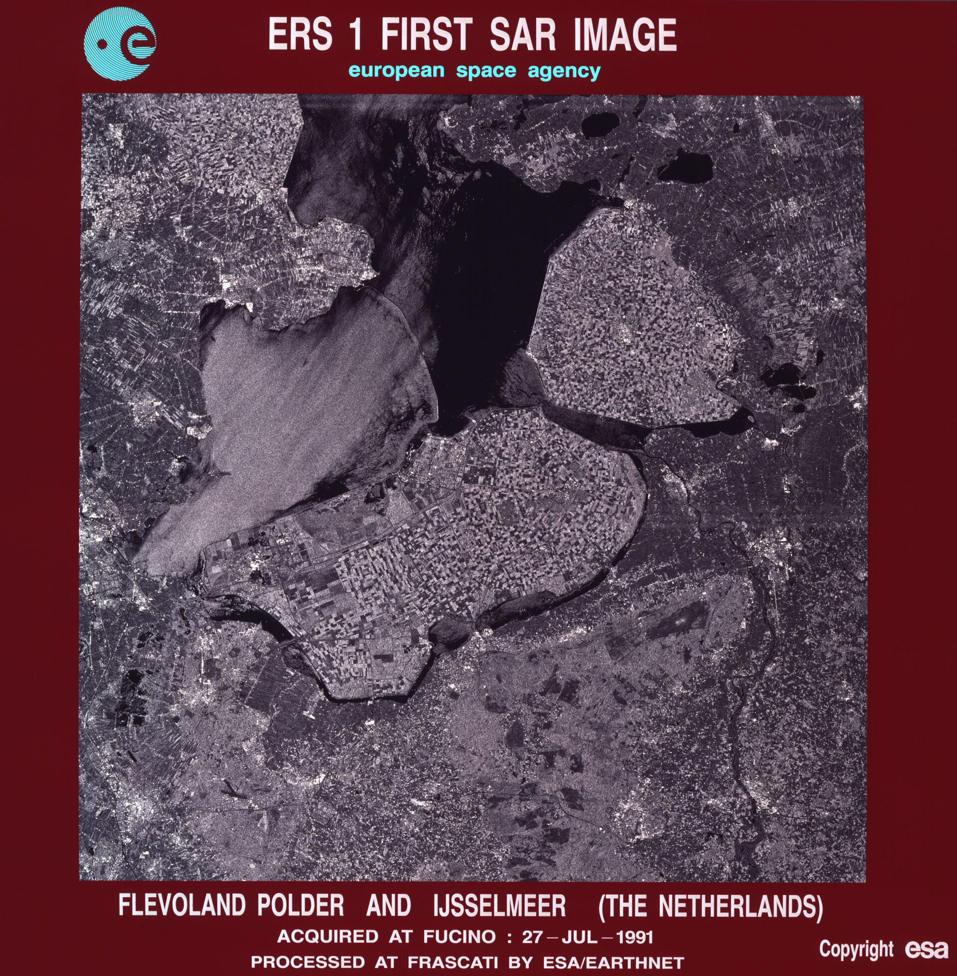 ERS-1 first image