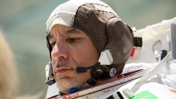 Luca Parmitano training at NASA's Johnson Space Center